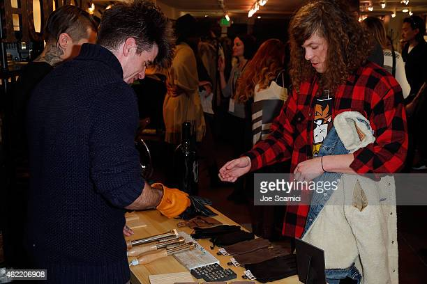 Blake Anderson attends The Variety Studio At Sundance Presented By Dockers on January 25 2015 in Park City Utah