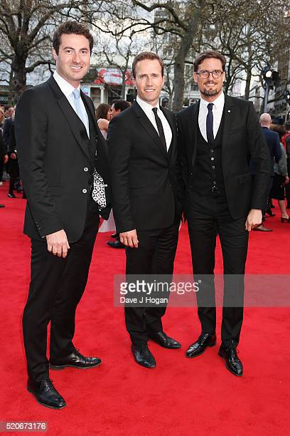 Blake attends for the UK film premiere of Florence Foster Jenkins at Odeon Leicester Square on April 12 2016 in London England