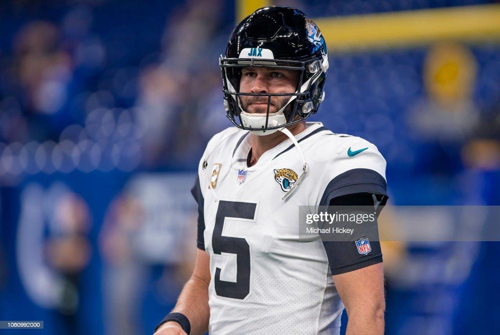 Jacksonville Jaguars v Indianapolis Colts : Fotografia de notícias
