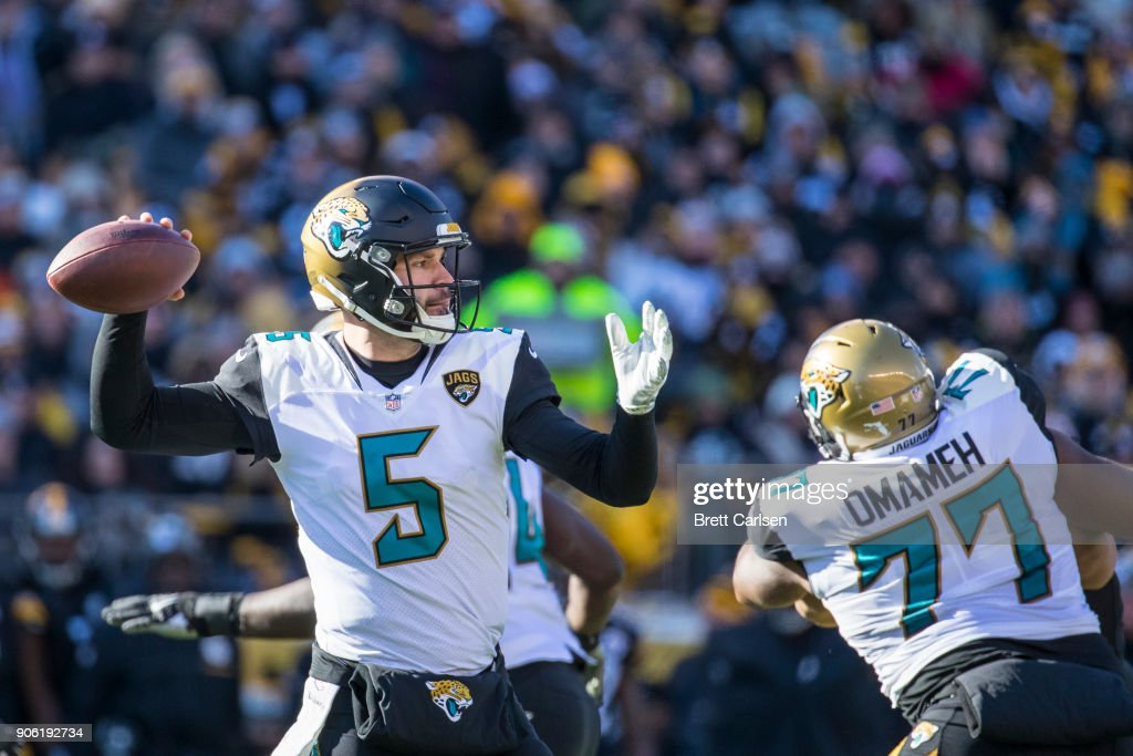 Divisional Round - Jacksonville Jaguars v Pittsburgh Steelers : News Photo