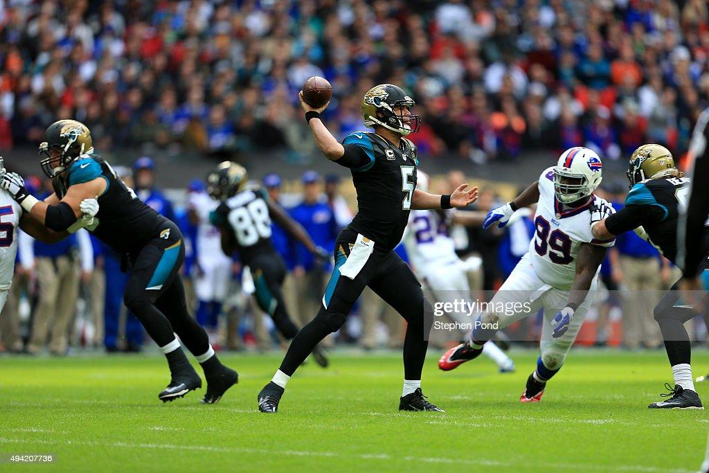 Jacksonville Jaguars v Buffalo Bills : News Photo