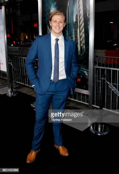 Blake Burt attends the premiere of Warner Bros Pictures 'Geostorm' at TCL Chinese Theatre on October 16 2017 in Hollywood California