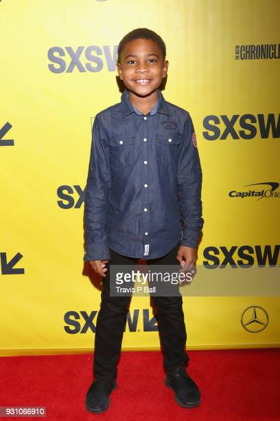 Blake Campbell attends the premiere of 'Warriors of Liberty City' during SXSW at Vimeo on March 12 2018 in Austin Texas
