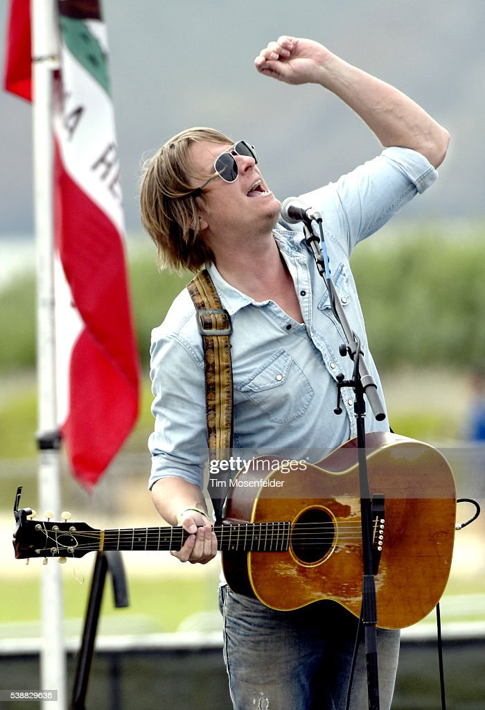 Blake Christiana of Yarn performs during Bernie Sanders, 'A future to believe in San Francisco GOTV Concert' at Crissy Field San Francisco on June 6, 2016 in San Francisco, California.