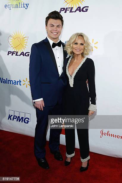 Blake Christopher O' Donnell Kristin Chenoweth attend PFLAG National's Eighth Annual Straight For Equality Awards Gala at The New York Marriott...