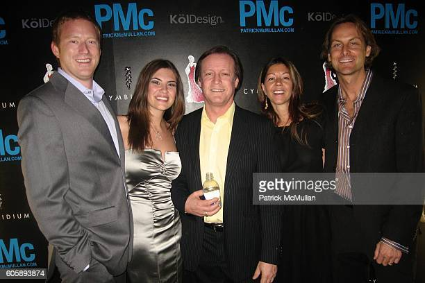 Blake Cleavenger Robin Wise Patrick McMullan Sally Randall Brunger and Andrew Brunger attend KOL Design and Patrick McMullan KISS KISS Book at...