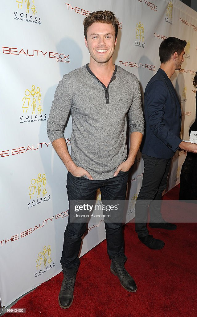 Blake Cooper Griffin arrives at 'The Beauty Book For Brain Cancer' Edition Two Launch Party sponsored by Voices Against Brain Cancer on December 3, 2015 in Los Angeles, California.
