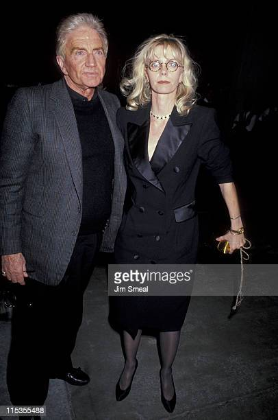 Blake Edwards and Jennifer Edwards during Screening of Switch at Samuel Goldwyn Theater in Hollywood California United States