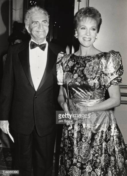 Blake Edwards and Julie Andrews during 3rd Annual ASCAP Film and Television Music Awards Dinner at Beverly Wilshire Hotel in Beverly Hills California...