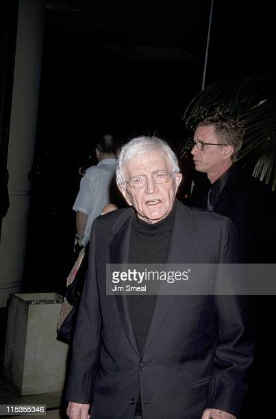 Blake Edwards during 10th Annual Ella Award Presented to Dame Julie Andrews at Beverly Hilton Hotel in Beverly Hills California United States