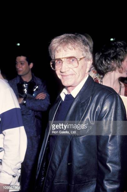Blake Edwards during Premiere of Music Video A Fine Mess at The Comedy Store in Hollywood California United States