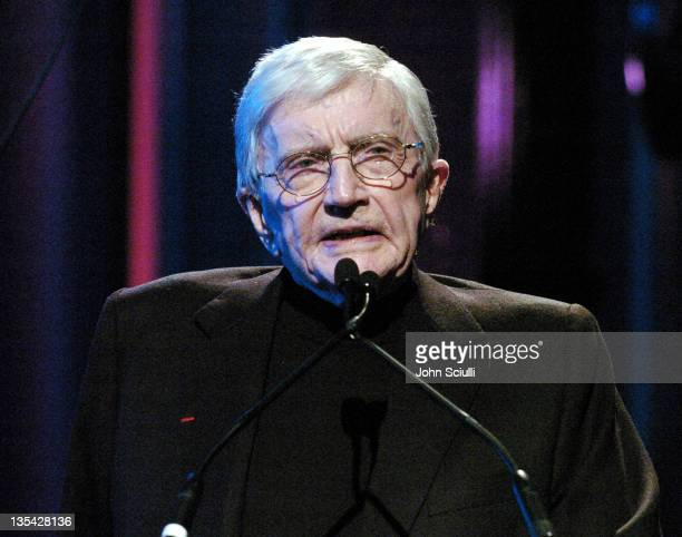 Blake Edwards during The Larry King Cardiac Foundation Gala at The Regent Beverly Wilshire Hotel in Beverly Hills California United States