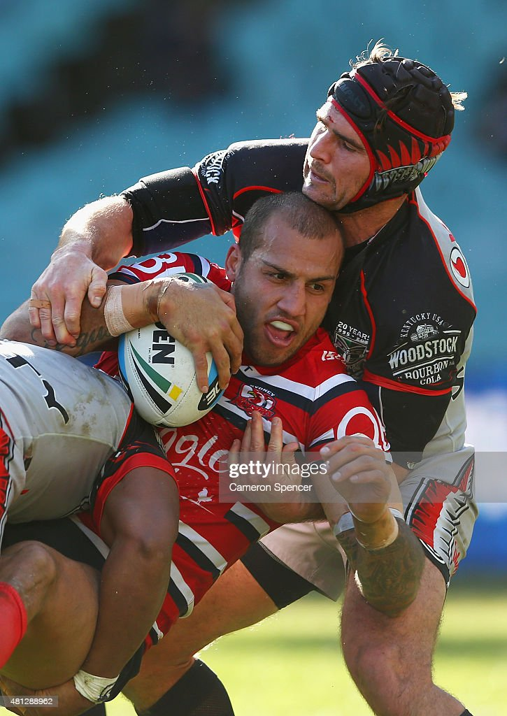 NRL Rd 19 - Roosters v Warriors
