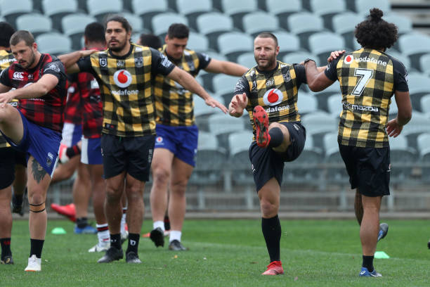 AUS: New Zealand Warriors Training Session