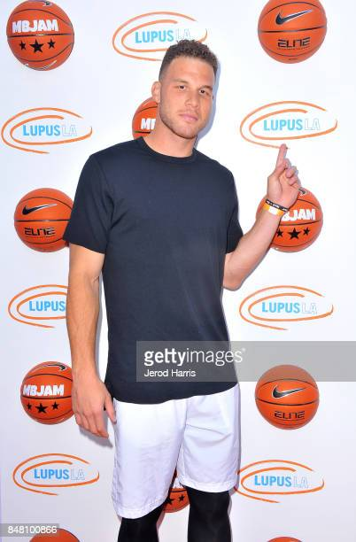 Blake Griffin at Lupus LA's MBJAM 17 on September 16 2017 in Marina del Rey California