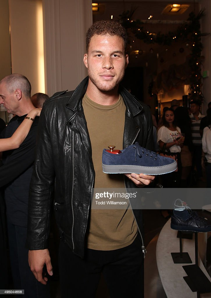 Blake Griffin attends a Del Toro Chandler Parsons Event at Saks Fifth Avenue Beverly Hills on October 30, 2015 in Beverly Hills, California.