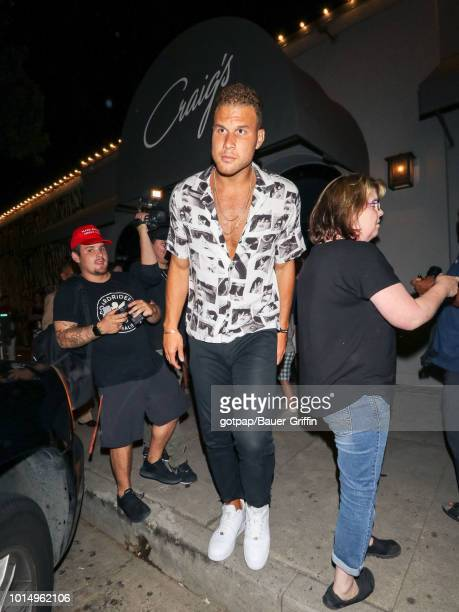 Blake Griffin is seen on August 10 2018 in Los Angeles California
