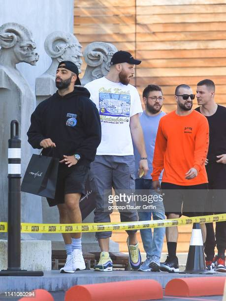 Blake Griffin is seen on May 03 2019 in Los Angeles California