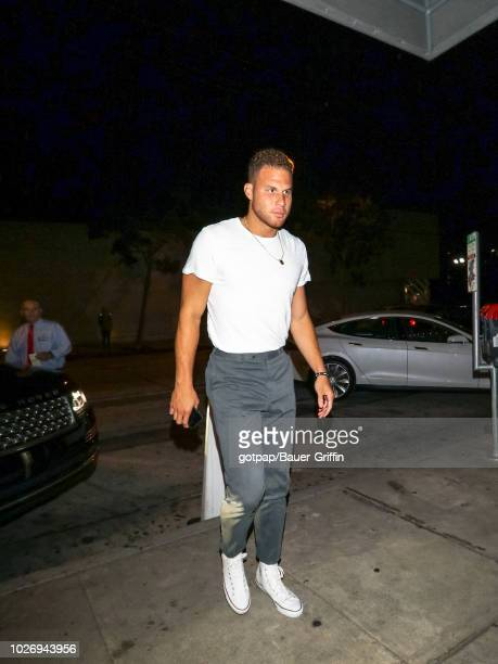 Blake Griffin is seen on September 04, 2018 in Los Angeles, California.