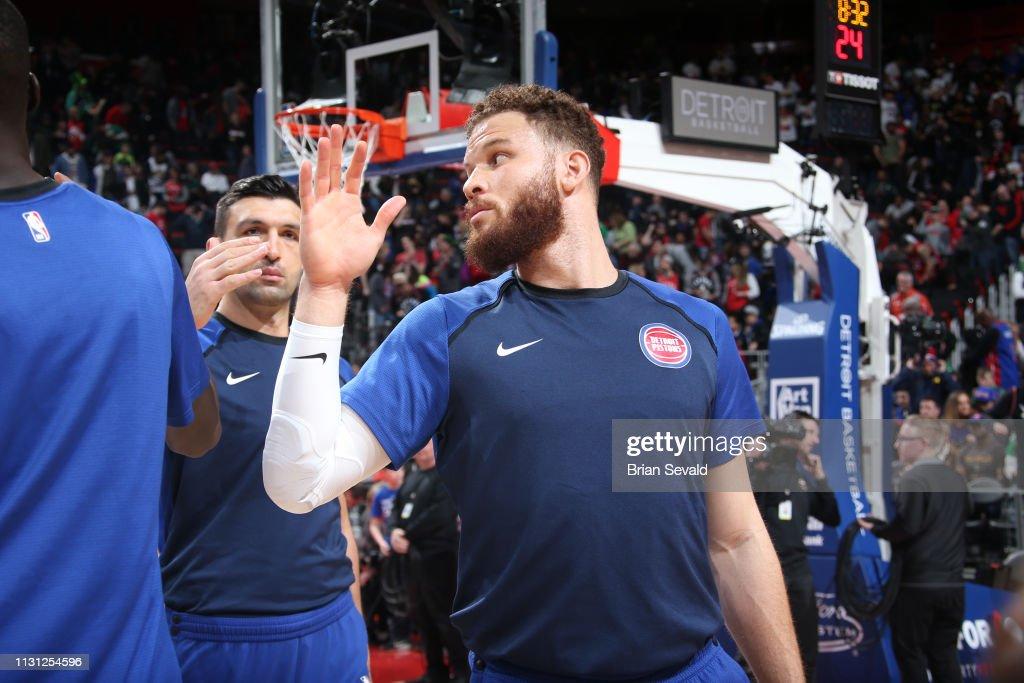 MI: Toronto Raptors v Detroit Pistons