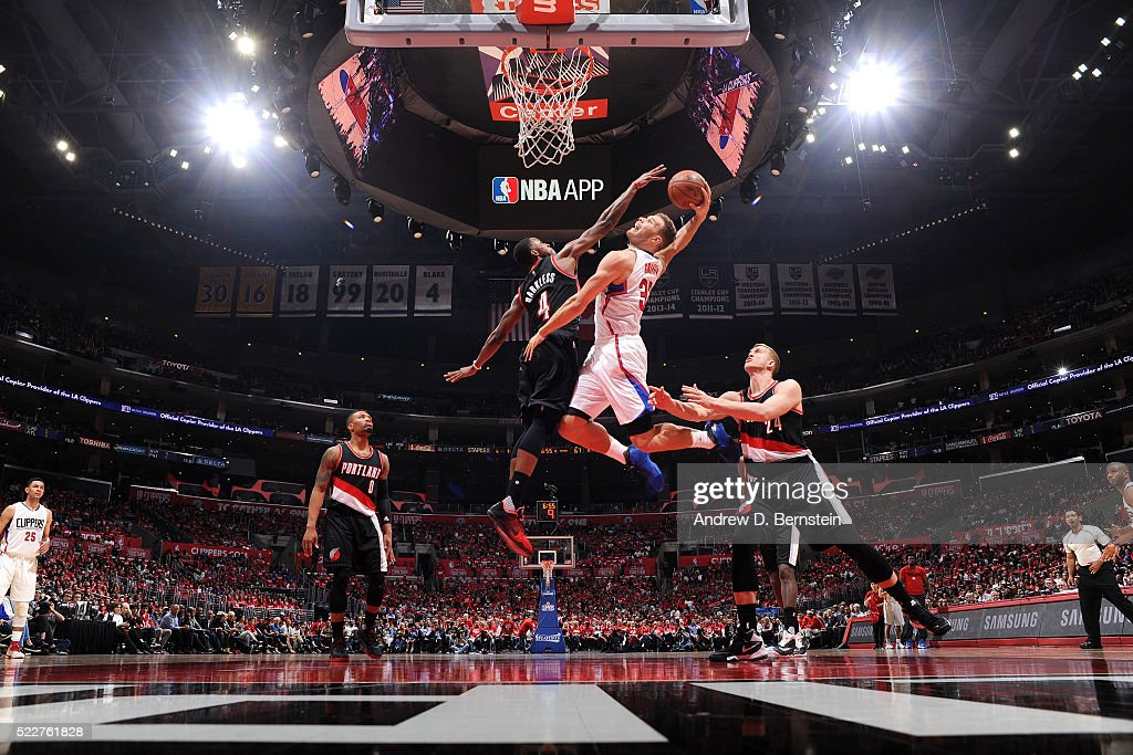 Portland Trail Blazers v Los Angeles Clippers - Game Two