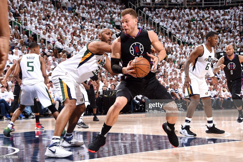 Los Angeles Clippers v Utah Jazz - Game Three