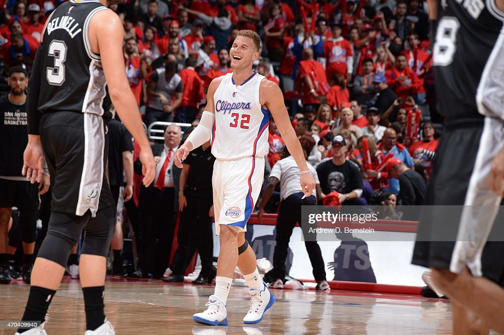 San Antonio Spurs v Los Angeles Clippers - Game One : News Photo