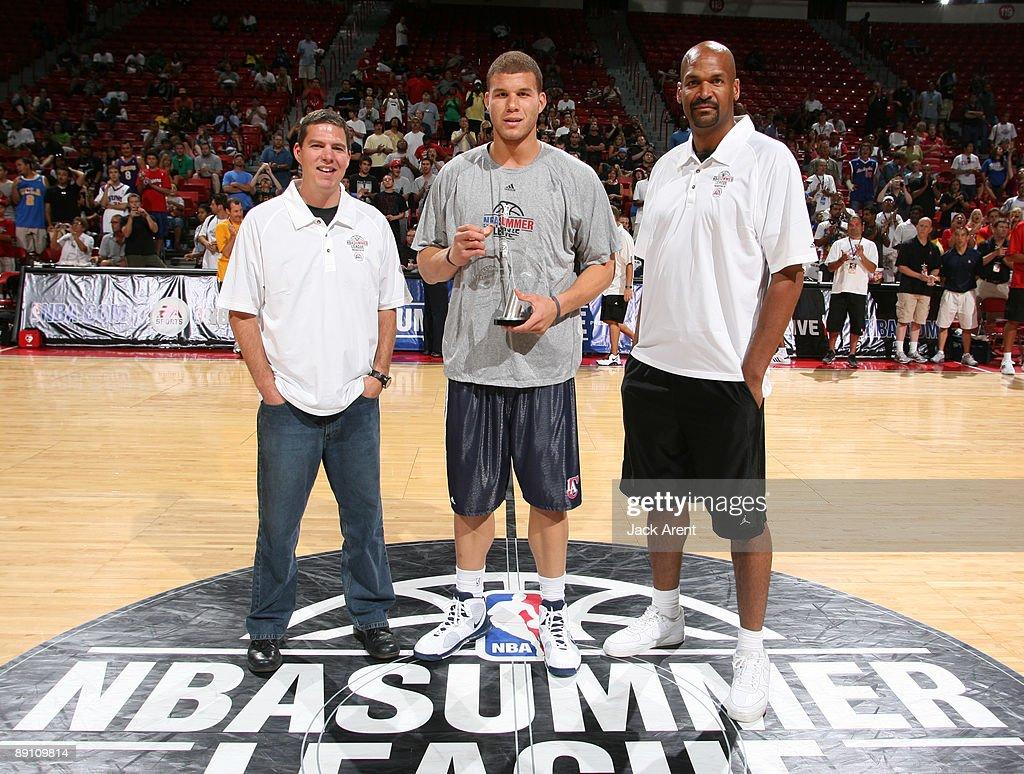 2009 NBA Summer League - Day 10 : News Photo