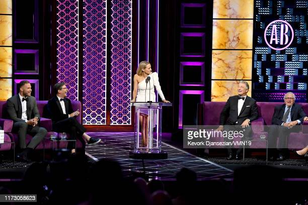 Blake Griffin Sean Hayes Nikki Glaser Alec Baldwin and Robert De Niro attend the Comedy Central Roast of Alec Baldwin at Saban Theatre on September...