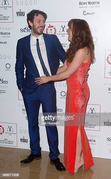 Blake Harrison and Kerry Ann Lynch arriving at the Critics' Circle Awards in London
