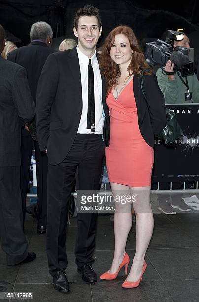 Blake Harrison And Kerry Ann-Lynch At The Premiere Of The New Batman Film, The Dark Knight Rises At The Odeon Leicester Square, London.