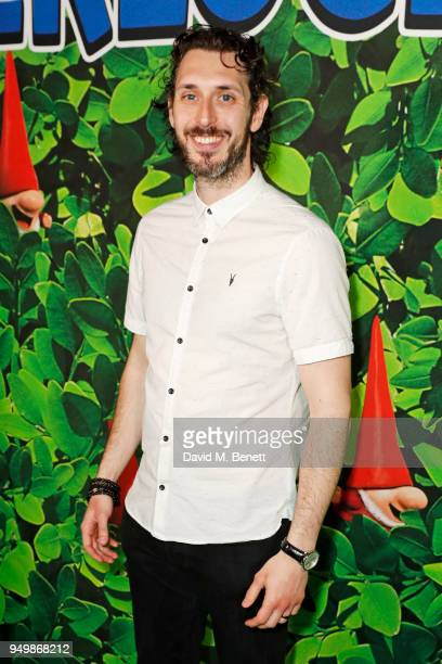Blake Harrison attends the Family Gala Screening of 'Sherlock Gnomes' hosted by Sir Elton John and David Furnish at Cineworld Leicester Square on...