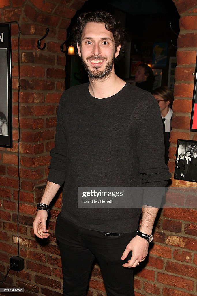 Blake Harrison attends the press night after party for 'Dead Funny' at Joe Allen Restaurant on November 3, 2016 in London, England.