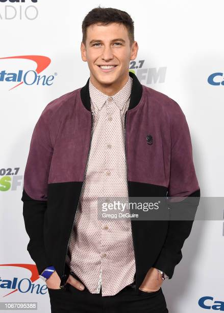 Blake Horstmann arrives at KIIS FM's Jingle Ball 2018 Presented By Capital One at The Forum on November 30 2018 in Inglewood California