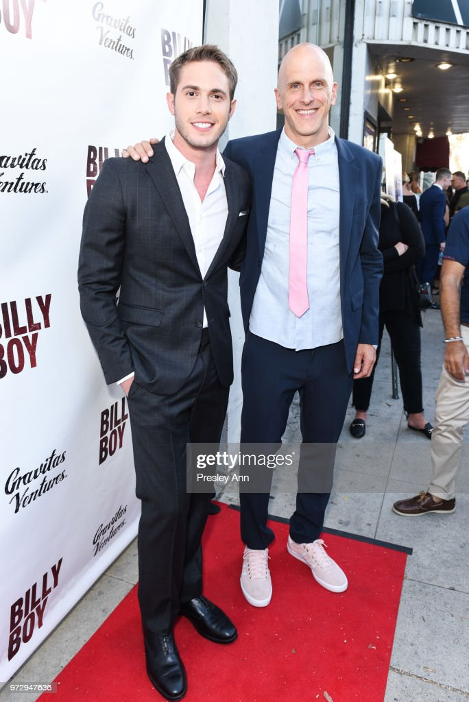 Blake Jenner and Bradley Buecker attend 'Billy Boy' Los Angeles Premiere - Red Carpet at Laemmle Music Hall on June 12, 2018 in Beverly Hills, California.