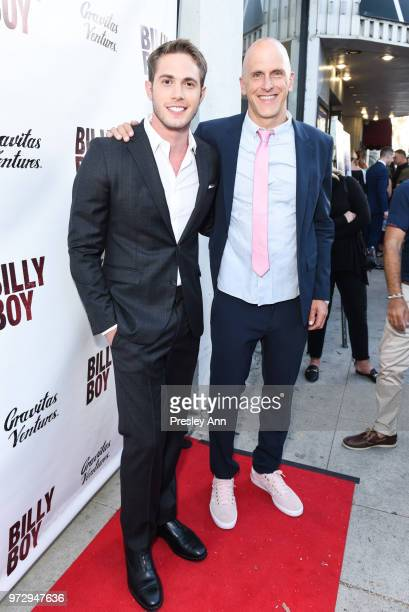 Blake Jenner and Bradley Buecker attend Billy Boy Los Angeles Premiere Red Carpet at Laemmle Music Hall on June 12 2018 in Beverly Hills California