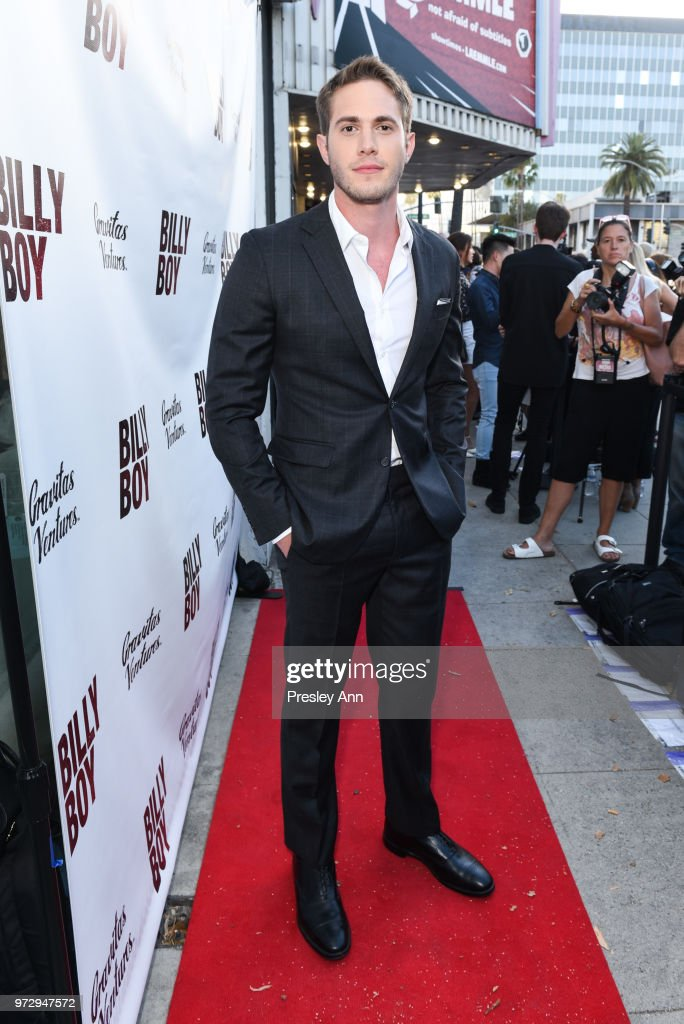 Blake Jenner attends 'Billy Boy' Los Angeles Premiere - Red Carpet at Laemmle Music Hall on June 12, 2018 in Beverly Hills, California.