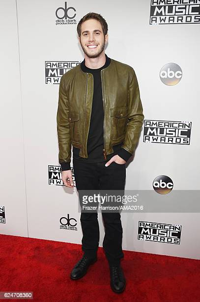 Blake Jenner attends the 2016 American Music Awards at Microsoft Theater on November 20 2016 in Los Angeles California
