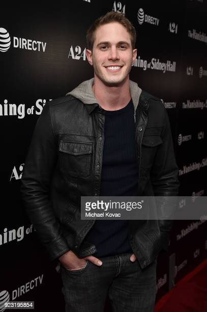 Blake Jenner attends the Los Angeles Special Screening of 'The Vanishing of Sidney Hall' on February 22 2018 in Los Angeles California