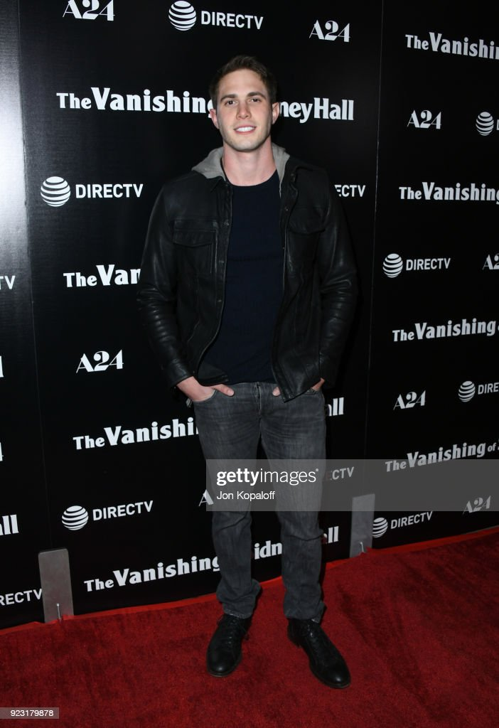 Blake Jenner attends the premiere of A24 and DirecTV's 'The Vanishing Of Sidney Hall' at ArcLight Hollywood on February 22, 2018 in Hollywood, California.