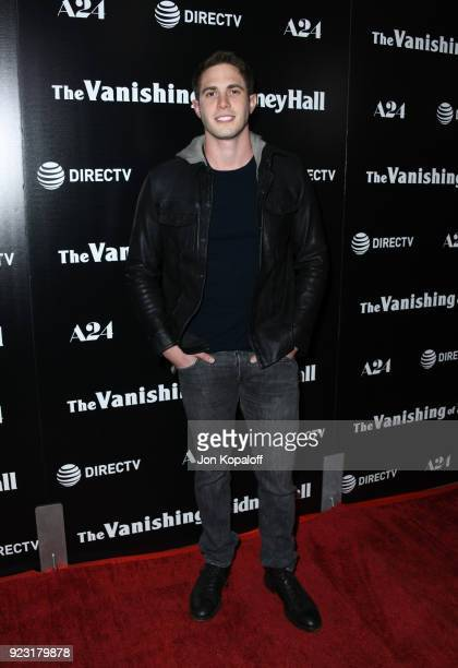 Blake Jenner attends the premiere of A24 and DirecTV's The Vanishing Of Sidney Hall at ArcLight Hollywood on February 22 2018 in Hollywood California