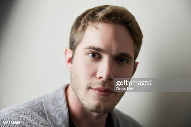 Blake Jenner from the fim 'American Animals' poses for a portrait at the YouTube x Getty Images Portrait Studio at 2018 Sundance Film Festival on...