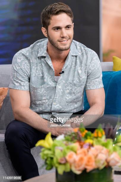 Blake Jenner is seen on the set of Despierta America at Univision Studios on May 14 2019 in Miami Florida