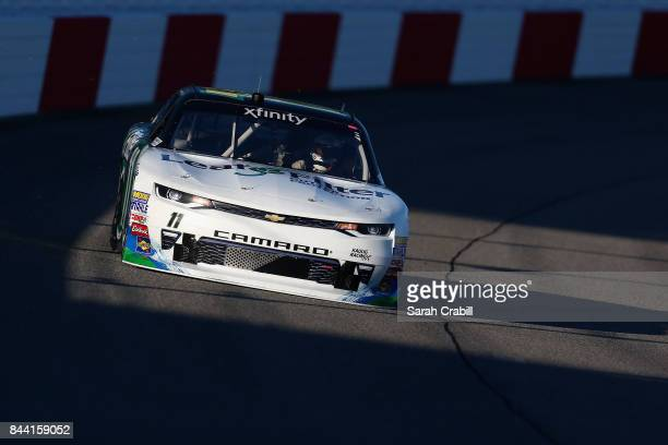 Blake Koch driver of the LeafFilter Gutter Protection Chevrolet practices for the NASCAR XFINITY Series Virginia529 College Savings 250 at Richmond...