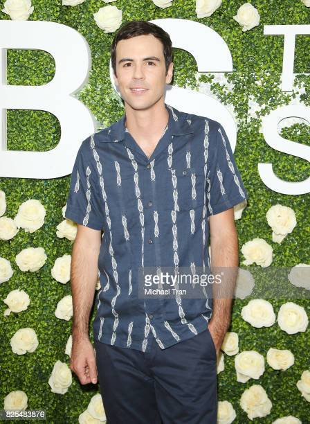 Blake Lee arrives to the 2017 Summer TCA Tour CBS Television Studios' Summer Soiree held at CBS Studios Radford on August 1 2017 in Studio City...