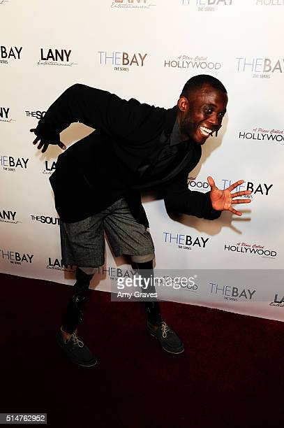 Blake Leeper attends the 5th Annual LANY Entertainment Mixer at St Felix on March 10 2016 in Hollywood California