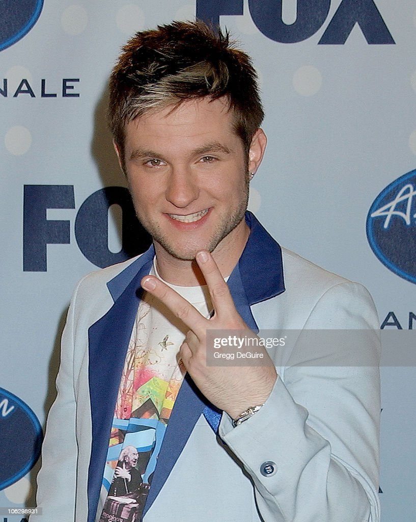 Blake Lewis during 'American Idol' Season 6 Finale - Press Room at Kodak Theatre in Hollywood, California, United States.