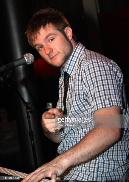 Blake Lewis performs songs from his new CD Audio Day Dream in his New York City debut at the Canal Room on June 24 2008 in New York City