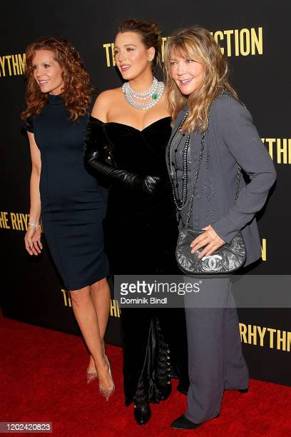 "Blake Lively and Elaine Lively attend ""The Rhythm Section"" New York Screening at Brooklyn Academy of Music on January 27, 2020 in New York City."