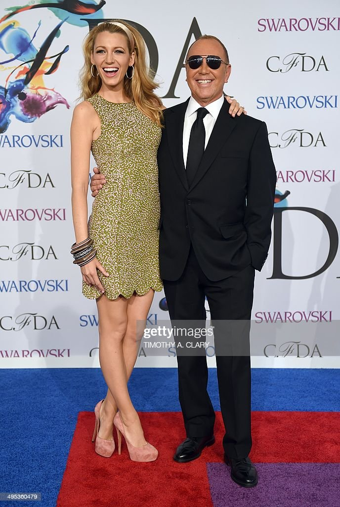 US-FASHION-CFDA-AWARDS : News Photo